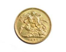 1897 half sovereign