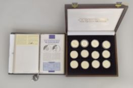 MDM The Crown CollectionsLimited - HM Queen Elizabeth the Queen Mother silver proof coin