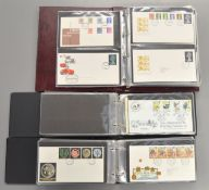 3 Folders containing approx 125 First Day Covers and approx 27 Royal Mail Presentation Packs