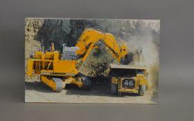 Liebherr R996 The Hydraulic Excavator boxed die-cast model by Conrad (1).