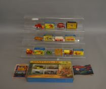 8 Matchbox die-cast models which includes; G-5 gift set Models Of Yesteryear, Superfast 46,