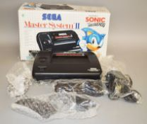 Sega Master System II boxed with Sonic The Hedgehog built in (1).
