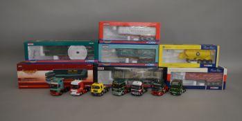 7 Corgi 1:50 scale die-cast truck models, which includes; R & H Scott Timer Haulage, Cooper