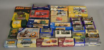 30 boxed die-cast Corgi models, including; Eddie Stobart, Building Britain, Corgi Classics etc (