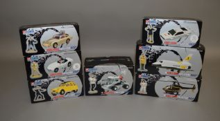 James Bond 007. 7 boxed Corgi die-cast models from the 'Corgi Classics Collection' issued in 1997/8,