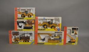 6 boxed construction related die-cast models by Joal Compact (6).