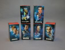 James Bond 007. A complete set of six boxed Corgi Spyguise Icons James Bond limited edition figures,