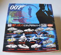 James Bond 007. A boxed  Kyosho 15 piece '007' diecast model set which contains a selection of 1: