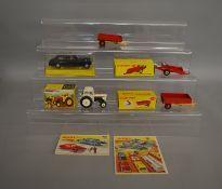 4 boxed Dinky Toys, including a #152 Rolls Royce Phantom V in black without passengers, G+ in F/G
