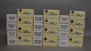 12 boxed Matchbox Collectibles 1:43 scale diecast models, including models from the 'Classic