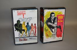 James Bond 007. 2 boxed Sideshow 12 inch action figures from the film 'Dr. No', issued in 2002, '