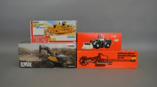 4 construction related boxed die-cast models by WSI Models, O & K etc (4).