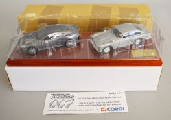 James Bond 007. A Corgi TY93994 Casino Royale Desk Top set which comprises an Aston Martin DBS and a