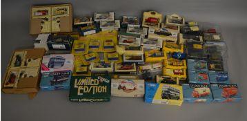 A mixed lot boxed die-cast models including; Corgi, Lledo, Matchbox, Oxford etc (70).