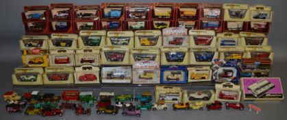 35 Yesteryear models, 14 boxed Corgi / Lledo models along with 28 unboxed die-cast models mostly
