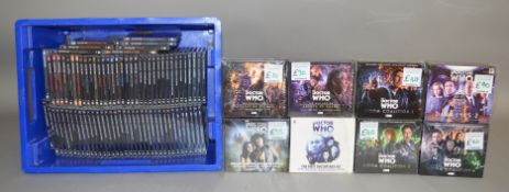 87 Doctor Who Audio Monthly Cd's and special editions, all are signed by either the author or a cast