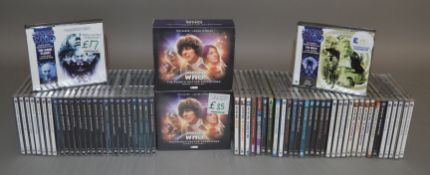 63 Doctor Who audio books on CD; The Forth Doctor, Colin Baker Series, Lost Years, Companion