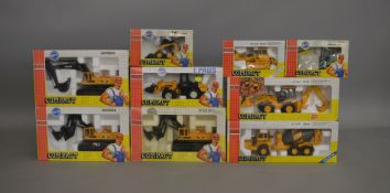 9 Joal Compact boxed die-cast models; which includes; Volvo A-35, Ankerman EC 60 etc (9).