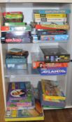 31 boxed games which includes; Swamp Thing, Space 1999, Round Up, The Bionic Woman, James Bond