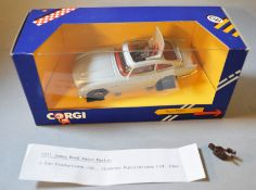 James Bond 007 A boxed Corgi C271/1 silver coloured Aston Martin DB5 with Wizz Wheels housed in a