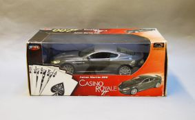 James Bond 007. A boxed Joyride 1:18 scale Aston Martin DBS, issued in 2006, modelled on the vehicle