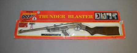 James Bond 007. A boxed  Coibel James Bond Secret Agent Thunder Blaster diecast compressed Air