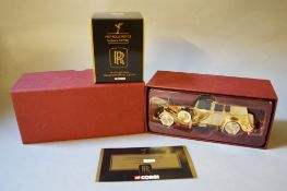 James Bond 007. A boxed Corgi CC06804 1937 Rolls Royce Sedance DeVille with 24ct gold plated finish,