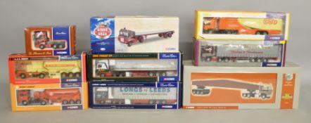 9 boxed 1:50 scale Corgi lorries (9)