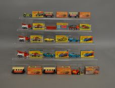 14 Matchbox Superfast die-cast models; 10, 13,15, 44 (x4), 56, 65 (x3), 71 (x3 1 of these models the