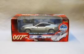 James Bond 007. A boxed Joyride 1:18 scale Aston Martin V12 Vanquish, issued in 2005, modelled on