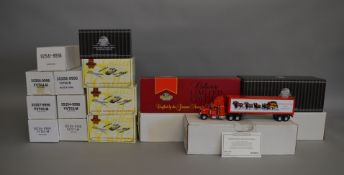 10 boxed Matchbox Collectibles 1:43 scale diecast models, mostly 'Budweiser' related, #92541 1932