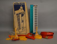 A boxed Corgi Rockets #2060 'Skypark Tower Garage' Set, unchecked for completeness although does