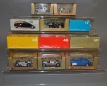 11 boxed Continental diecast models including 6 by Brumm and 5 by Rio, all appear VG boxed. (11)