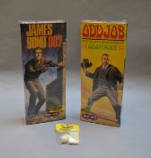 James Bond 007. 2 boxed Polar Lights James Bond rellated plastic model figure kits, 'James Bond' and