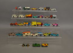 31 unboxed Matchbox regular wheels and Superfast die-cast models which could benefit from some