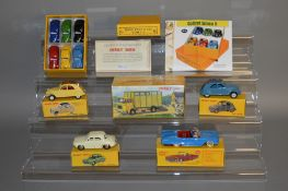 A boxed French Atlas Editions Dinky Toys Presentation 'trade' box of six differently coloured