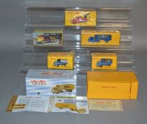 A boxed French Atlas Editions Dinky Toy 32AJ Panhard Tractor with Semi Remorque in 'Kodak' livery