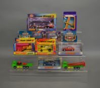 10 boxed Matchbox die-cast models; including; Superkings, Dinky etc, also includes 2 unboxed
