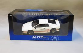 James Bond 007. A boxed Autoart 1:18 scale Code 2 Lotus Esprit Turbo, issued in 1999, modelled on