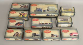"""11 boxed 1:50 scale Corgi models from the """"Vintage Glory Of Steam"""" range (11)"""