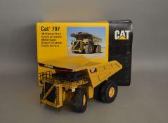 Cat 797 1:50 scaleOff-Highway Truck die-cast boxed model (1).
