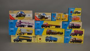 "14 Corgi die-cast models from various ranges including; ""Archive Corgi"", ""Road Transport"", ""Corgi"