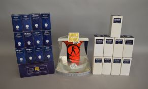 James Bond 007. A complete set of boxed Corgi Icons James Bond limited edition figures including