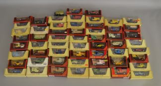 117 boxed models of Yesteryear by Matchbox along with 1 unboxed model (118).