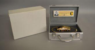 James Bond 007. 11 scarce Corgi James Bond 007 gold plated 'Special Edition' diecast models
