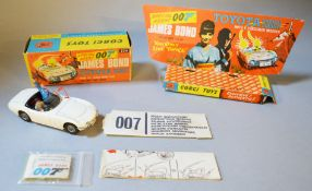 James Bond 007 A boxed Corgi Toys 336 Toyota 2000 GT as featured in the film 'You Only Live