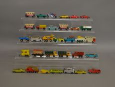 30 unboxed Matchbox regular wheels and Superfast die-cast models which could benefit from some