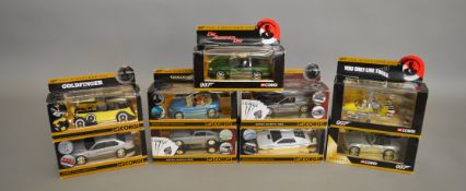 James Bond 007. 9 boxed Corgi die-cast models from the 'Directors Cut Collection' issued in 2005,