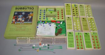 A boxed vintage Subbuteo 'Continental' Club edition which appears largely complete and comes with