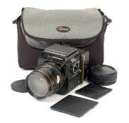 DESCRIPTION CHANGE Bronica SQ-A 120 SLR & 50mm Lens.